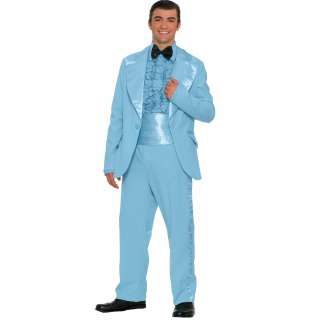 Prom King Adult Costume   Includes jacket, shirt front, bow tie