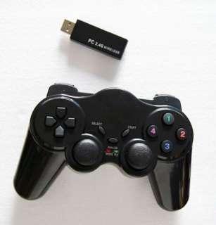 Dual Shock USB Wireless PC Controller Game pad Joypad Joystick