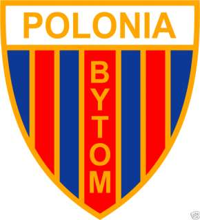 TS Polonia Bytom FC Poland Football Sticker 4X5