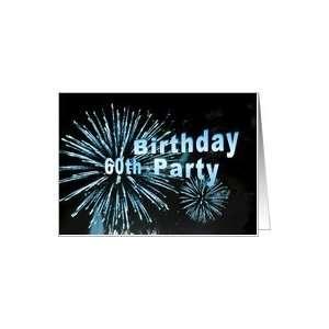 Happy 60th Birthday Party Invitation Card: Toys & Games