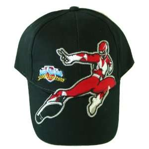 Power Rangers childrens baseball cap  Boys Red ranger hat