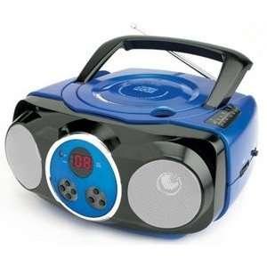 Naxa Portable CD Player with AM/FM Stereo Radio Model NPB