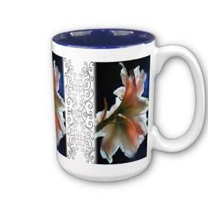 Amaryllis in The Spotlight Coffee Mug  Home & Kitchen