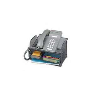 Safco Onyx Mesh Telephone Stand / Drawer