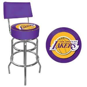 NBA1100 LAL   Los Angeles Lakers NBA Padded Swivel Bar