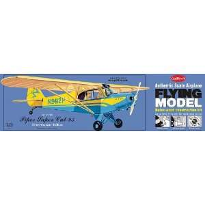 Piper Super Cub Balsa Model Airplane Guillows: Toys