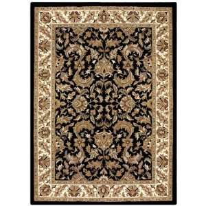 St. Croix PT15R Traditions Isphan Black/Beige Rug Size 5 x 8