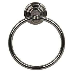 Brentwood Black Chrome Towel Holder Ring