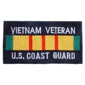U.S. Coast Guard Vietnam Veteran Patch Black & Yellow 1 3