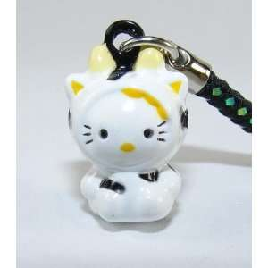 Hello Kitty Strap, Charm, or Keychain, a Set of 2 Pieces