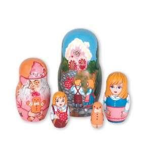 Hansel & Gretel Nesting Doll 5pc./5 Toys & Games