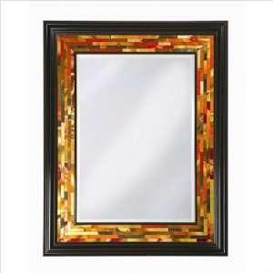 5168 Carrolton Painted Glass Floor Mirror, Multi