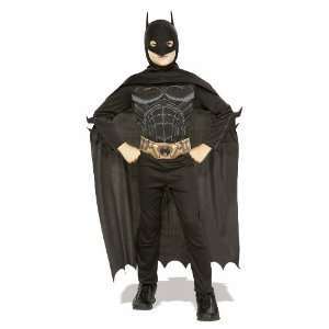 Child Batman Costume   Batman Begins Costume Large: Toys & Games
