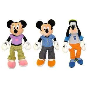 Set Of 4 Disney Pals Talking Plush Toy Dolls 18