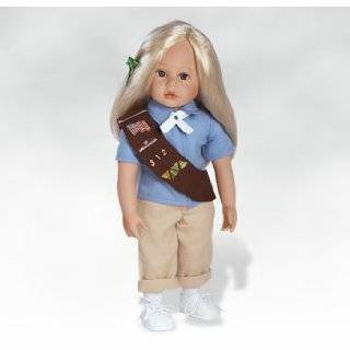 Emma   Girl Scout Brownie Doll, Made in Vinyl Paradise Galleries Dolls