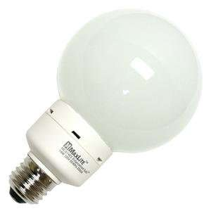 Maxlite 11379   MLG14ES Globe Screw Base Compact Fluorescent Light