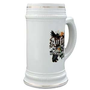 Stein (Glass Drink Mug Cup) Air Force US Grunge Any Time Any Place Any