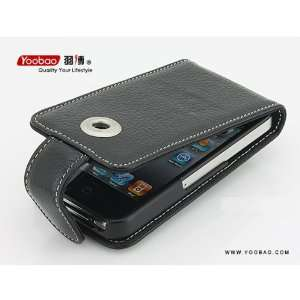YOOBAO Executive Genuine Leather Case Skin Cover For Apple iPhone 4 4G
