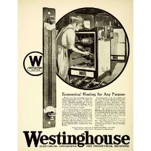 1921 Ad Heating Westinghouse Electrical Manufacturing Space Heaters