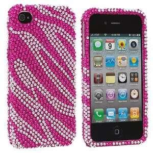 Electromaster(TM) Brand   Hot Pink Silver Zebra Bling