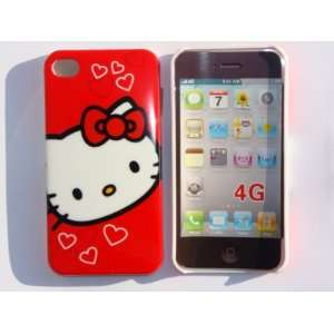 FACE DESIGN HARD BACK CASE COVER + FREE HELLO KITTY VELVET COIN CASE