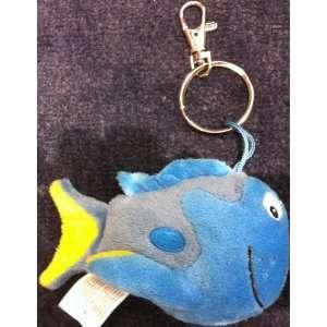 Disney Finding Nemo, Dory Fish Plush Key Chain Key Holder
