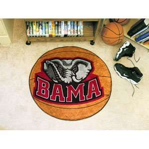 Alabama Crimson Tide NCAA Basketball Round Floor Mat (29