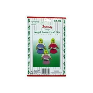 Holiday foam craft kit Pack Of 60 Home & Kitchen