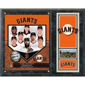 San Francisco Giants Team Plaque