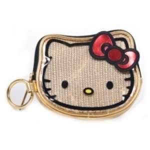 Hello Kitty Gold Sequin Face Coin Bag SANCB0324 Toys