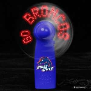Boise State Broncos Light Up Handheld Message Fan