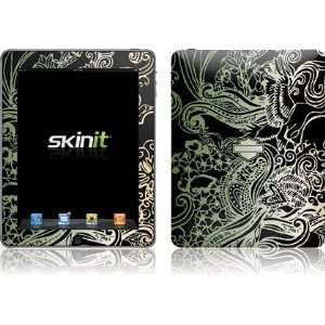 Skinit Harley Davidson Black Floral Splash Vinyl Skin for