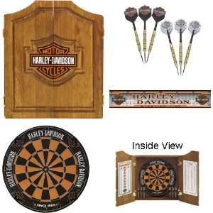 Harley Davidson Bar & Shield Dart Kit