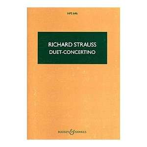 Duet Concertino (0073999194098) Richard Strauss, Study