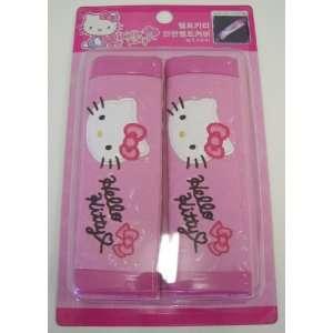 Hello Kitty Sanrio Seat Belt Shoulder Pad   Pair
