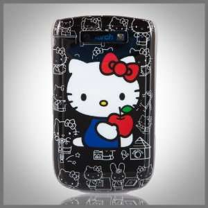 Hello Kitty Black Collage Images hard case cover for