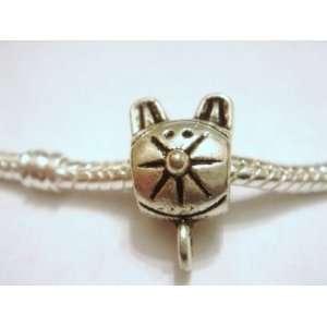 Adorable Kitty cat charm for charm bracelets, pandora