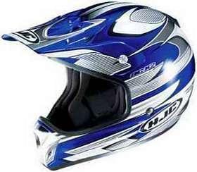 HJC AC X2 ACX2 INJECTOR MC2 BLUE SIZEXXS MOTORCYCLE Off Road Helmet