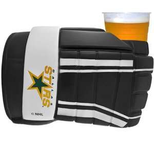 NHL Dallas Stars Game On Hockey Glove Drink Holder   Black