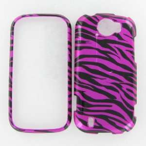 HTC myTouch 4G Slide Zebra on Hot Pink Hot Pink/Black