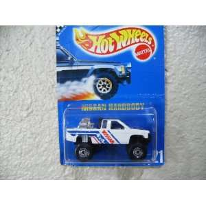 Hot Wheels Nissan Hardbody 1991 # 21 All Blue Card White W