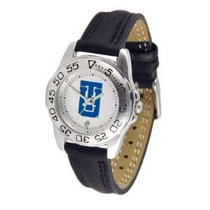 Tulsa Golden Hurricane NCAA Womens Leather Wrist Watch
