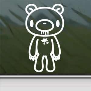 Gloomy Bear Stand White Sticker Car Vinyl Window Laptop