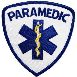 PARAMEDIC EMT EMS Large Uniform Jacket Back Patch 11 x 4