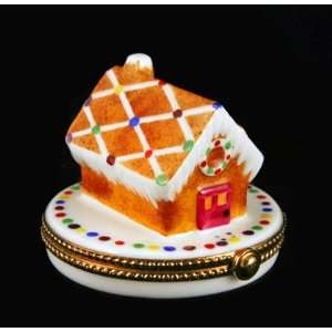 Christmas Gigerbread House French Limoges Box