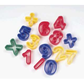 DOUGH CUTTERS NUMBERS Toys & Games