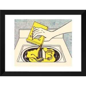 Roy Lichtenstein FRAMED Art 28x36 Washing Machine