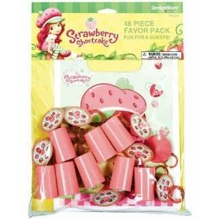 Strawberry Shortcake Princess Birthday Party Invitations