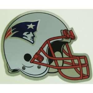 New England Patriots Helmet Large Chrome NFL Car Magnet