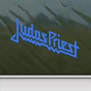 Judas Priest Blue Decal Metal Rock Band Window Blue